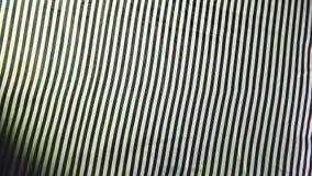 El fondo rayado de la tela del modelo de la fábrica texturiza el papel pintado raya ligera en las salvapantallas de la tela para  almacen de video