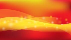 El fondo rojo de vector de onda de la celebración del extracto ilustración del vector