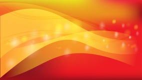 El fondo rojo de vector de onda de la celebración del extracto libre illustration