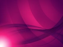 El fondo rosado ondulado significa a Art Or Design moderno Fotos de archivo