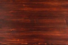 El fondo texturizado de madera marrón Foto de archivo