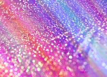 El fondo unfocused multicolor de descensos brillantes del agua ilustración del vector