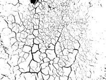 El fondo urbano del grunge de las grietas Vector de la textura ilustración del vector