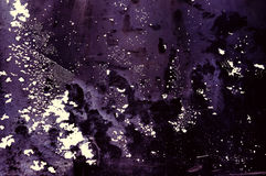 El fondo violeta manchado Fotografía de archivo