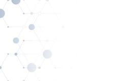 El fondo virtual de la tecnología Foto de archivo