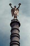 El Fontaine du Palmier, Fontaine de la Victoire, Place du Châtelet, París, Francia imágenes de archivo libres de regalías