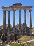 El foro romano fotografía de archivo libre de regalías