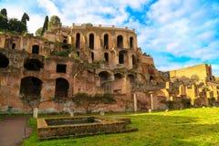 El foro romano Imagenes de archivo