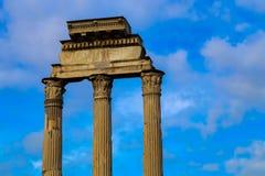 El foro romano Imagen de archivo libre de regalías