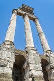 El foro romano, Roma, Italia Fotos de archivo libres de regalías