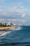 El Fort Lauderdale abajo vara Imagenes de archivo