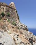 El Fortezza Ciudad de Rethymno crete imagen de archivo