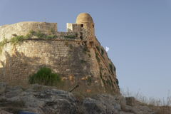 El Fortezza Ciudad de Rethymno crete imágenes de archivo libres de regalías