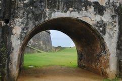 el-fortmorro Puerto Rico Royaltyfri Bild