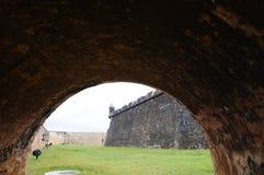 el-fortmorro Puerto Rico Royaltyfri Fotografi