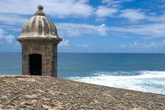el-fortmorro Puerto Rico Arkivbilder