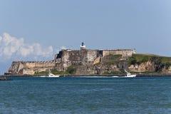 el fortu morro puerto rico Zdjęcie Stock