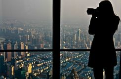 El fotógrafo imágenes de archivo libres de regalías