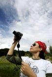 El fotógrafo Foto de archivo