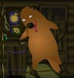 El Fox consiguió en la cabina libre illustration