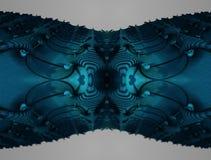 El fractal cuatro hace la representación geométrica abstracta de composition-3d Imagenes de archivo