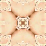 El fractal del batik ata otoño Foto de archivo