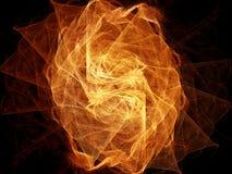 El fractal se levantó Imagen de archivo
