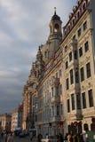 El Frauenkirche en Dresden, Sajonia imagen de archivo libre de regalías