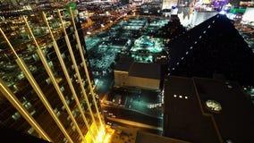 El frente de oro de la bahía de Mandalay y Delano Las Vegas - ciudad de Las Vegas Nevada/USA