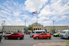 El frente del ministerio de defensa de Thailland Imagenes de archivo