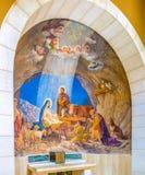 El fresco en la iglesia Foto de archivo libre de regalías