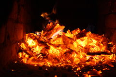 El fuego Imagenes de archivo