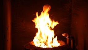 El fuego en el horno Sistema de calefacción metrajes
