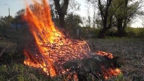 El fuego era almacen de metraje de vídeo