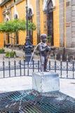 El Fuente De Los Ninos Miones en Guadalajara Foto de archivo libre de regalías