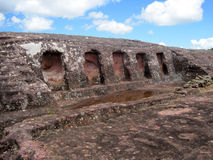 El Fuerte Archaeology ruins,Bolivia Stock Image