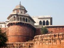 El fuerte de Agra Imagenes de archivo