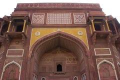 El fuerte de Agra, la India fotografía de archivo libre de regalías