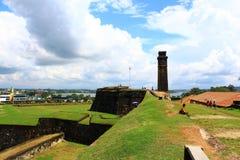 El fuerte de Galle Fotografía de archivo libre de regalías