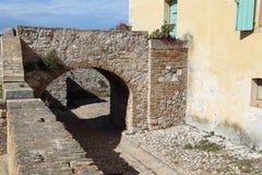 El fuerte real en el santo Margaret Island Foto de archivo