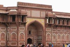 El fuerte rojo de Agra la India fotos de archivo libres de regalías