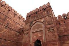 El fuerte rojo de Agra la India fotografía de archivo libre de regalías