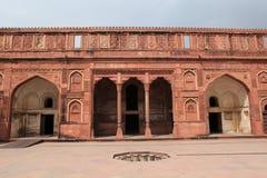 El fuerte rojo de Agra la India fotos de archivo