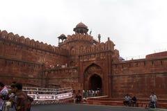 El fuerte rojo Lal Qila Delhi India imágenes de archivo libres de regalías