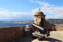 El fuerte Royan en la isla St Margaret Imagen de archivo libre de regalías
