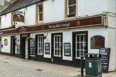 El fuerte William Scotland del restaurante de la barra del salón de Jacobite imagenes de archivo