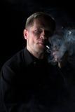 El fumador Imagen de archivo libre de regalías