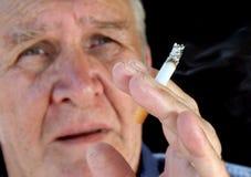 El fumador 4 Imagen de archivo