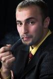 El fumador Foto de archivo libre de regalías