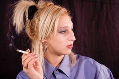 El fumar Imagen de archivo libre de regalías